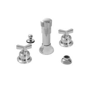 Bidet Set with Moderne-X Handle