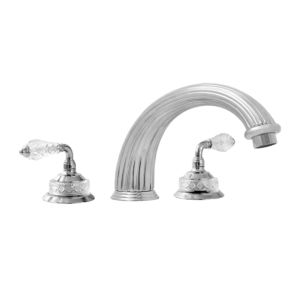 3200 Series Roman Tub Set with Luxembourg Handle (available as trim only P/N: 1.326577T)