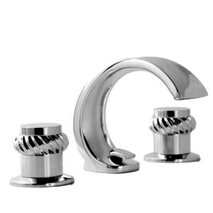 900 Series Lavatory Set with Seville Handle shown with Rope Decorative Rings
