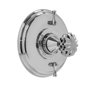 """1/2"""" Thermostatic Shower Set with Madison Elite Handle and Two Volume Controls (available as trim only P/N; 1.004096.V2T)"""