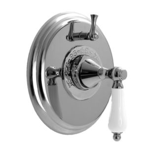 """1/2"""" Thermostatic Shower Set with New Hampton Handle and One Volume Control (available as trim only P/N: 1.004396.V1T)"""