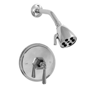 Pressure Balance Shower Set with Valencia Handle