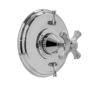 Thermostatic Shower Set with Mallorca Handle and Two Volume Controls