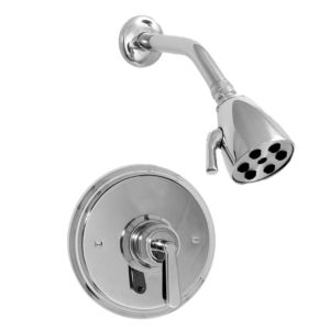 Pressure Balance Shower Set with Moderne Handle