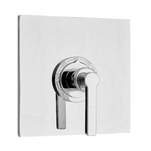 """3/4"""" Thermostatic Contemporary Shower Set with Tribeca Handle"""