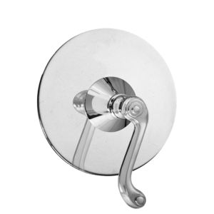 E-Mini Thermostatic with Round plate - Trim only with Hampshire handle