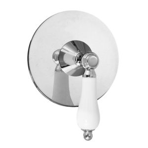 E-Mini Thermostatic with Round plate - Trim only with New Hampton handle
