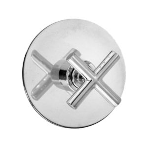 E-Mini Thermostatic with Round plate - Trim only with Nova II handle