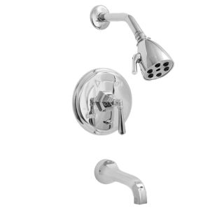 720 Series Pressure Balance Tub and Shower Set with Valencia Handle (available as trim only P/N: 1.727468T)