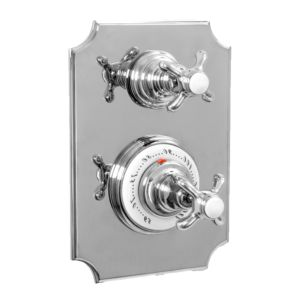 "1/2"" Imperial Thermostatic Shower Set with Volume Control and 021 Handle (available as trim only P/N: 7.0202196VT)"