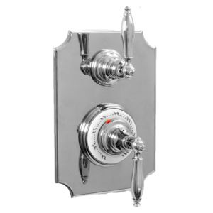 "1/2"" Imperial Thermostatic Shower Set with Volume Control and 026 Handle (available as trim only P/N: 7.0202696VT)"
