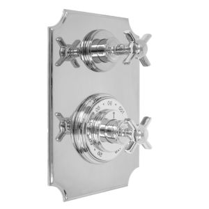 """1/2"""" Imperial Thermostatic Shower Set with Volume Control and 157 Handle (available as trim only P/N: 7.0215796VT)"""