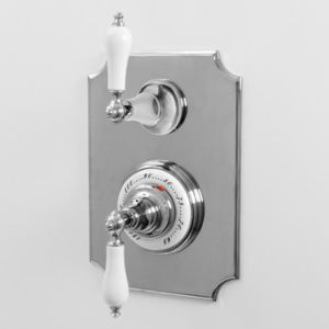 """1/2"""" Imperial Thermostatic Shower Set with Volume Control and 465 Handle (available as trim only P/N: 7.0246596VT)"""