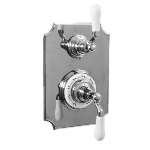 "1/2"" Imperial Thermostatic Shower Set with Volume Control and 482 Handle (available as trim only P/N: 7.0248296VT)"
