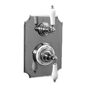 """1/2"""" Imperial Thermostatic Shower Set with Volume Control and 485 Handle (available as trim only P/N: 7.0248596VT)"""