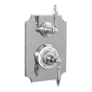 "1/2"" Imperial Thermostatic Shower Set with Volume Control and 466 Handle (available as trim only P/N: 7.0246696VT)"