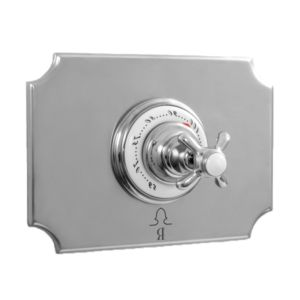 """3/4"""" Imperial Deluxe Thermostatic Shower Set with 021 Handle (available as trim only P/N: 7.0302197DT)"""