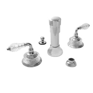 Bidet Set with Luxembourg Handle