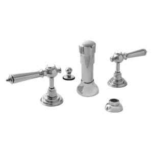 Bidet Set with Ascot Handle