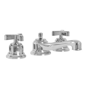620 Series Lavatory Set with Moderne X  Handle