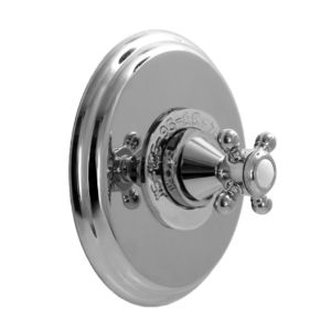 """3/4"""" Thermostatic Shower Set with Portsmouth Handle and Deluxe Plate (available as trim only P/N: 1.000697DT)"""