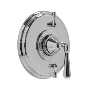 Thermostatic Shower Set with Windham Handle and Two Volume Controls