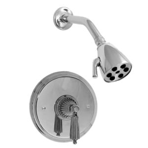 Pressure Balance Shower Set with Georgian Handle (available as trim only P/N: 1.004164DT)