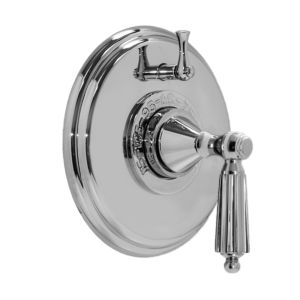 """1/2"""" Thermostatic Shower Set with Georgian Handle and One Volume Control (available as trim only P/N: 1.004196.V1T)"""