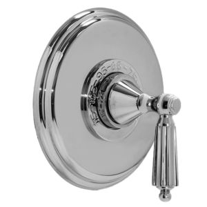 """3/4"""" Thermostatic Shower Set with Georgian Handle and Deluxe Plate (available as trim only P/N: 1.004197DT)"""