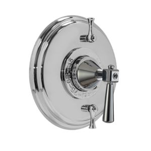 Thermostatic Shower Set with Regent Handle and Two Volume Controls
