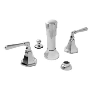 Bidet Set with Valencia Handle