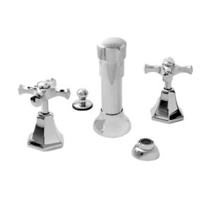 Bidet Set with Mallorca Handle