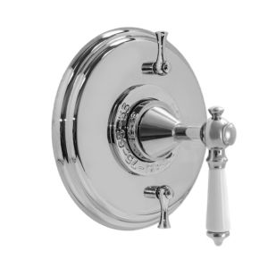 Thermostatic Shower Set with Waldorf Handle and Two Volume Controls
