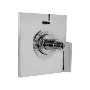 "1/2"" Thermostatic Shower Set with Stixx Handle and Square Plate with One Volume Control (available as trim only P/N: 1.059596.V1T)"