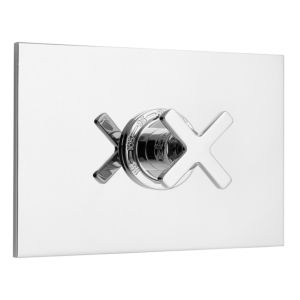 """3/4"""" Deluxe Thermostatic Shower Set with Tribeca-X Handle"""