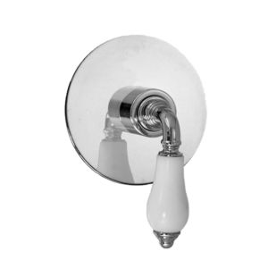 E-Mini Thermostatic with Round plate - Trim only with Venezia handle
