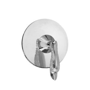 E-Mini Thermostatic with Round plate - Trim only with Windsor Elite handle