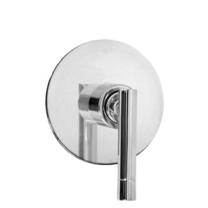 E-Mini Thermostatic with Round plate - Trim only with Polaris II handle