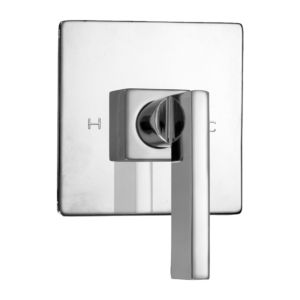 E-Mini Thermostatic with Square plate - Trim only with Stixx handle