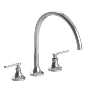 110 Series Roman Tub Set with Stella Handle (available as trim only P/N: 1.110777T)