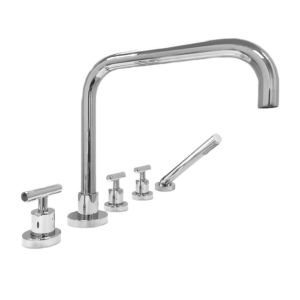 4400 Series Roman Tub Set with Hand-Shower and Ceres II Handle