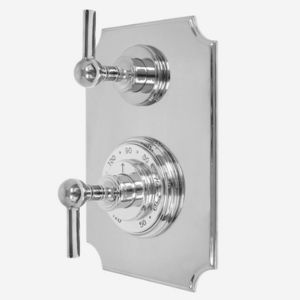 """1/2"""" Imperial Thermostatic Shower Set with Volume Control and 158 Handle (available as trim only P/N: 7.0215896VT)"""