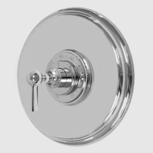 """3/4"""" Round Deluxe Thermostatic Shower Set with 158 Handle (available as trim only)"""