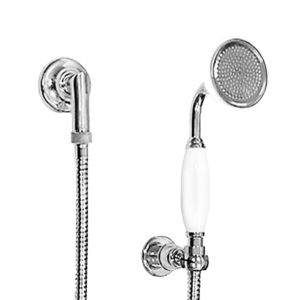 Wall Mount Handshower Set with Porcelain Wand