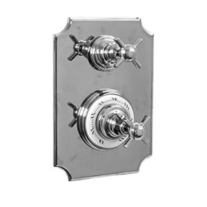 """1/2"""" Imperial Thermostatic Shower Set with Volume Control and 463 Handle (available as trim only P/N: 7.0246396VT)"""