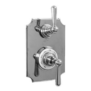 "1/2"" Imperial Thermostatic Shower Set with Volume Control and 484 Handle (available as trim only P/N: 7.0248496VT)"
