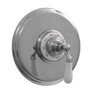 """3/4"""" Round Deluxe Thermostatic Shower Set with 482 Handle (available as trim only P/N: 7.0448297DT)"""