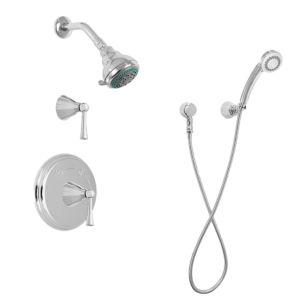 ENCORE 03 Pressure Balance Shower Set with Melrose handles with Diverter